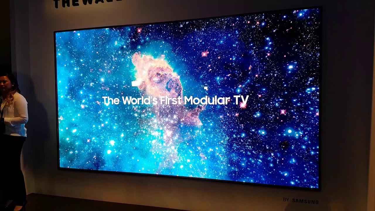Samsungs erster Micro-LED 8K Fernseher